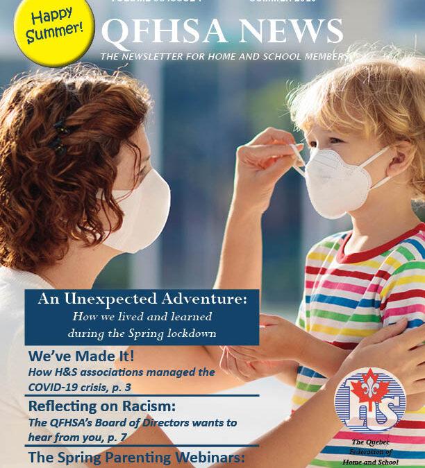 QFHSA Summer 2020 Newsletter
