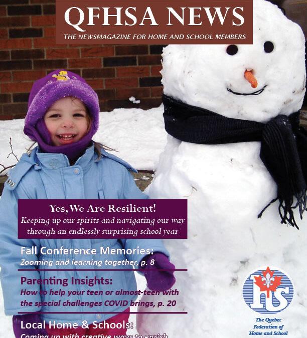 QFHSA Winter 2020 Newsletter